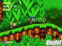 Pantalla Sonic MegaCollection