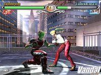 Pantalla Virtua Fighter 4 Evolution