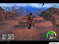 Pantalla Excitebike 64