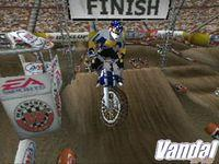 Pantalla Supercross 2001