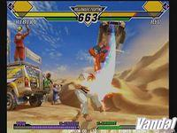 Pantalla Capcom vs SNK 2