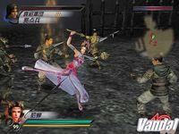 Pantalla Dynasty Warriors 4