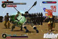 Pantalla Dynasty Warriors 2