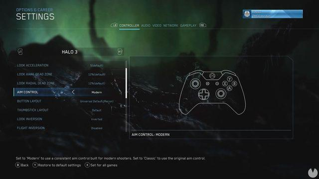 Halo: The Master Chief Collection debuts a new option pointed to