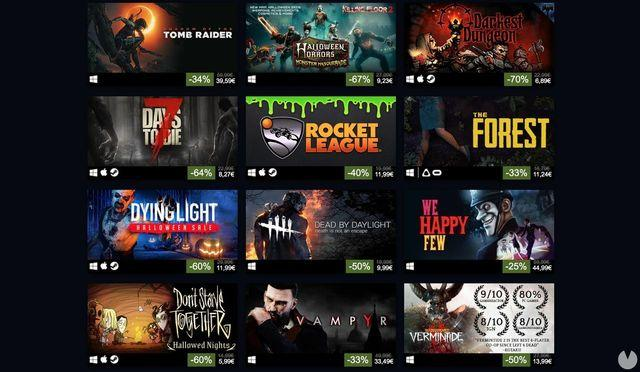 Pull out all the discounts for Halloween on Steam