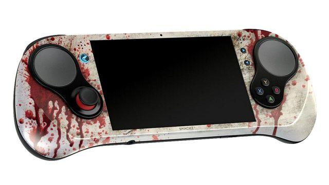 The portable console SMACH Z presents its special edition themed zombie
