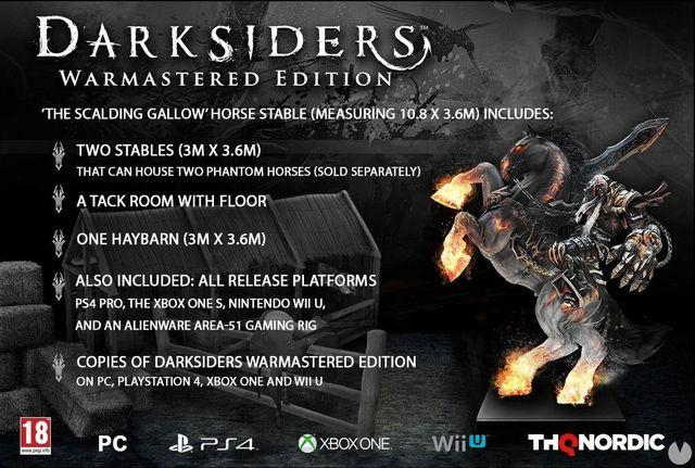 A special edition of Darksiders: Warmastered Edition includes a stable for horses