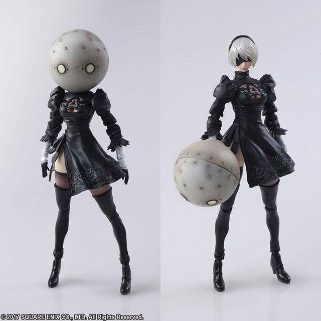 NieR: Automata introduces new figures of their protagonists