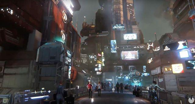 Star Citizen shows its huge futuristic cities