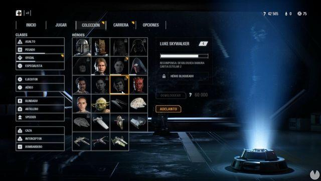 Battlefront II reduces by 75% the price of the heroes after complaints