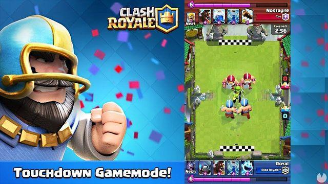 Touchdown returns to Clash Royale this weekend