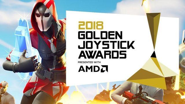 Fortnite is the Best game of the year at the Golden Joystick Awards 2018