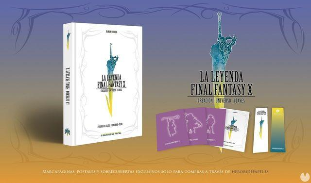 Open the reservation period of the book, The Legend Final Fantasy X