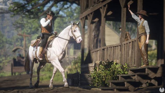 Red Dead Online detailing their developments with a new Fugitive, rewards and more rewards