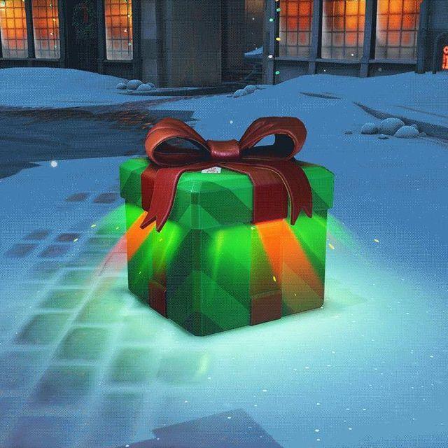 Die spieler von Overwatch erhalten fünf geschenke von Blizzard mit motiv weihnachten