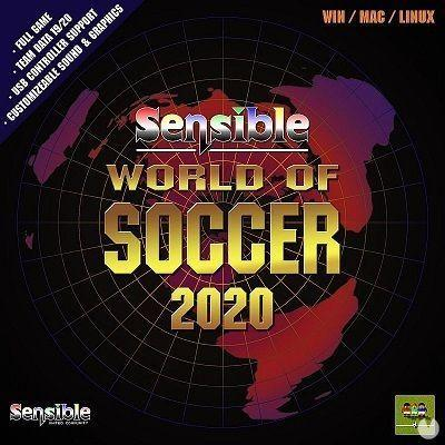 Amateur created and released the game retro football Sensible World of Soccer 2020