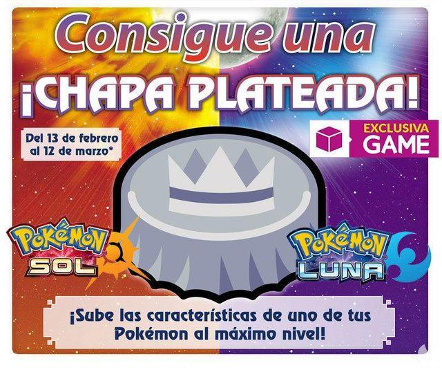 the GAME will offer in their Nintendo Zone plate silver for Pokemon Sun/Moon