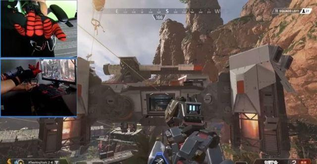 Play Apex Legends with a replica of the lanzaredes of Spider-Man