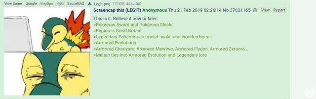 Filtragem: Pokémon Espada e Escudo teriam evoluções com armaduras