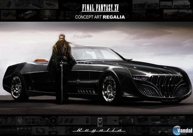 created and designed the Regalia, the luxury car of the FFXV