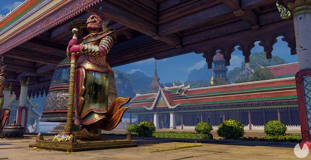 Street Fighter V sarà aggiungere lo scenario in Thailandia la prossima settimana