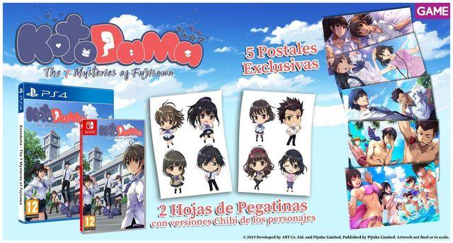 GAME shows your keychain is exclusive for bookings of Kotodama
