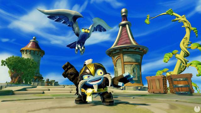 Skylanders Imaginators presents Air Strike, one of his new characters,
