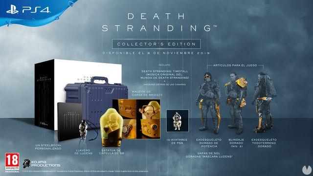 Death-Stranding: Hideo Kojima shows the BB Pod Collector Edition
