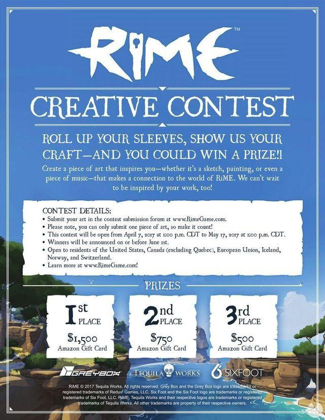 Rime wants you to show your creativity with this contest