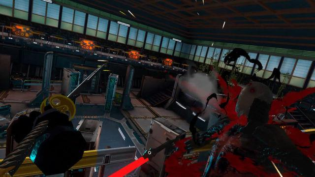 this is Sairento VR, a virtual reality game in which we will incarnate a ninja
