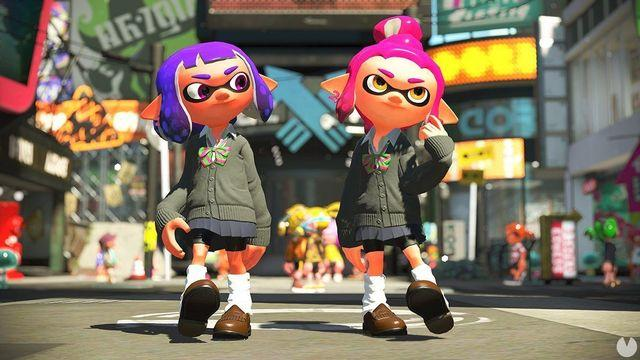 Presented the costumes unlockable Splatoon 2