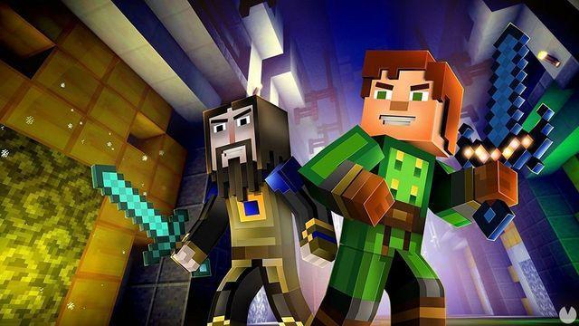 Minecraft Story Mode Das Ganze Abenteuer Wird Switch Im Juli - Minecraft spiele amazon