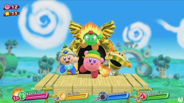 The video game Kirby for Switch will be titled Kirby Star Allies