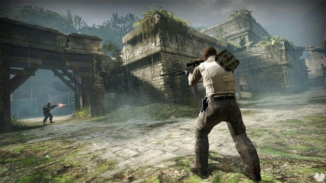 Sent to the desert to a player addicted to Counter Strike