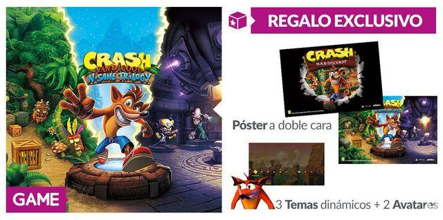 GAME details their incentives exclusive to Crash Bandicoot N. Sane Trilogy