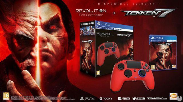 Tekken 7 sarà una limited edition con la Rivoluzione Pro Controller per Nacon