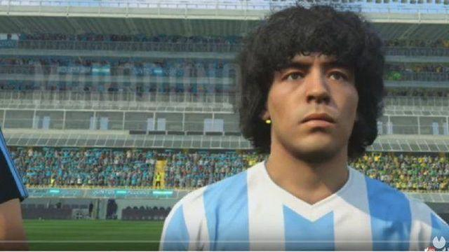 Maradona and Konami come to an agreement for the use of her image in PES 2017