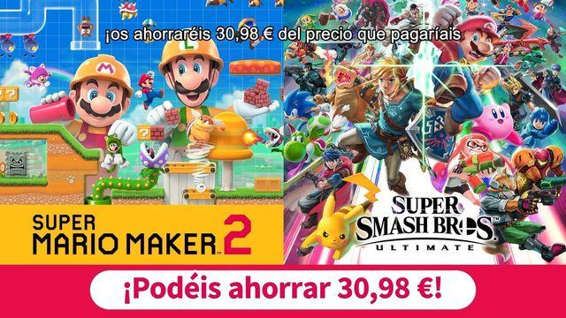Advertised coupons Nintendo Switch: two digital games for 99 euros
