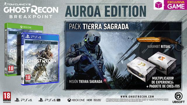 GAME details his editions of exclusive Ghost Recon Breakpoint