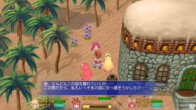 The remake of Secret of Mana is shown in new images