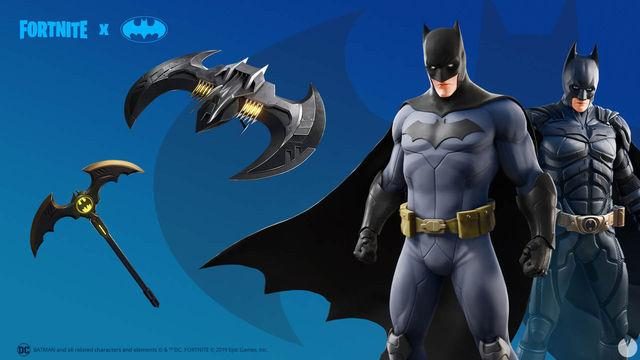 Fortnite: Batman and Gotham City land with a new stage, costumes and props