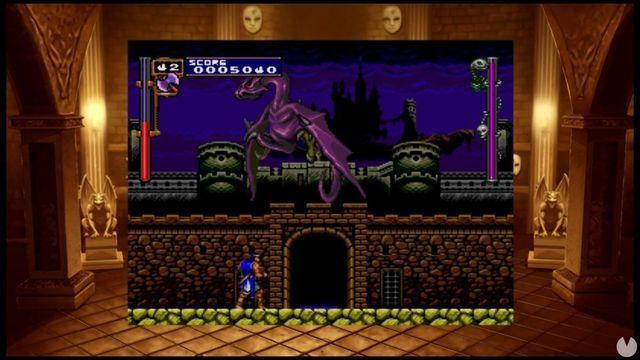 Konami shows the graphics options of Castlevania Requiem