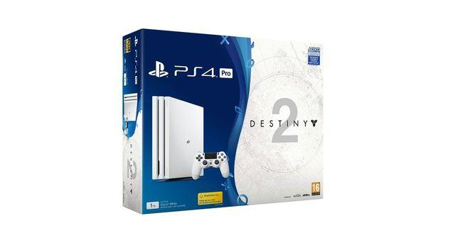 Le pack de Pro PS4 blanche avec Destiny 2 sera exclusif au JEU