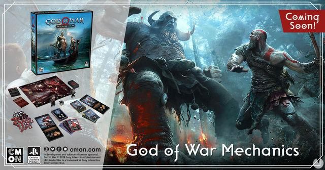 So is God of War: the card game, the table game of EDGE based on the success of PS4