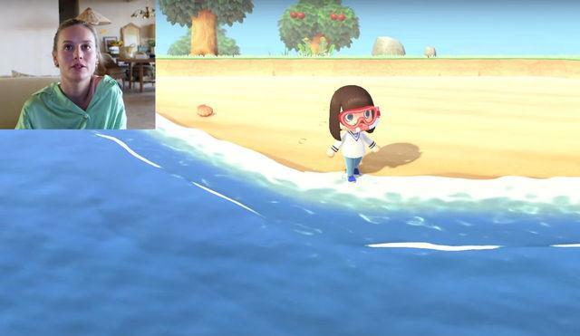 Brie Larson zeigt Ihr die Insel von Animal Crossing und zeigt, wer er ist, seine Einwohner am günstigsten gelegene