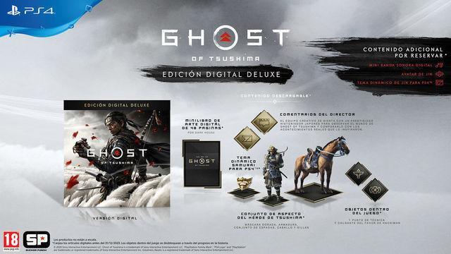 Ghost of Tsushima: Tudo o que inclui a edição Digital Deluxe