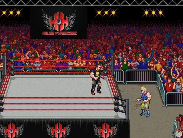 RetroMania Wrestling shows his style of game in a video demo