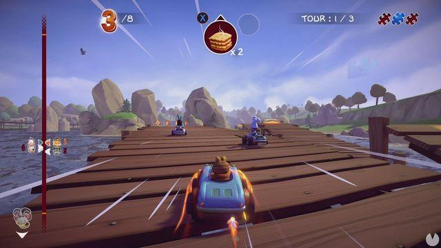 Announced Garfield Kart: Furious Racing to consoles and PC