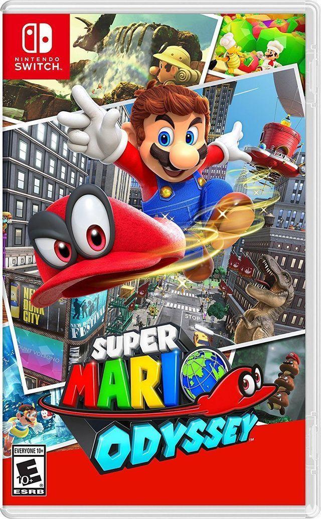 Super Mario Odyssey apresenta a sua nova capa