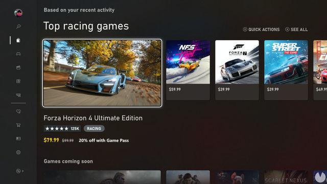 é a nova Microsoft Store e na Xbox